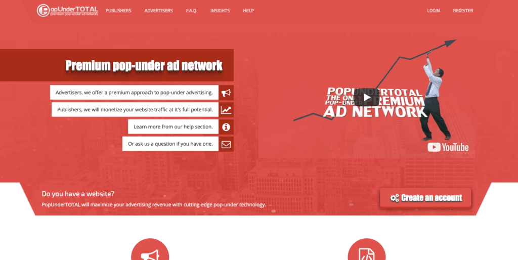 popundertotal website