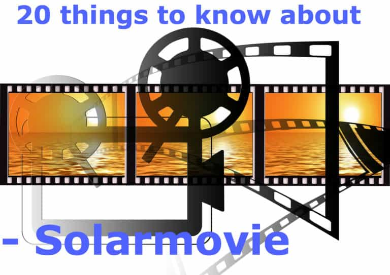 things to know about solarmovie